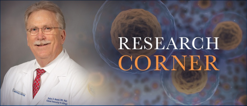 Research Corner with Dr. Gailen Marshall