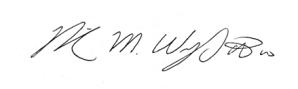 wardrop signature